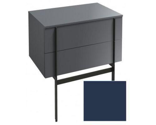 Комод Jacob Delafon Nouvelle Vague 80 см, EB3054-G98, цвет темно-синий глянцевый