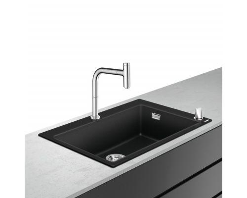 Кухонная комбинация Hansgrohe 660, C51-F660-07, смеситель хром