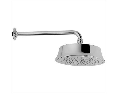 Верхний душ Cisal Shower D220 мм с настенным держателем L270 мм, хром
