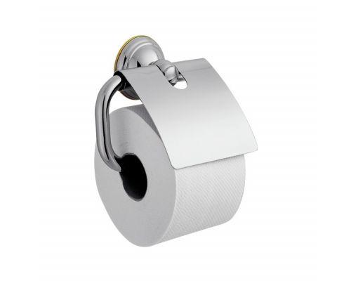 Держатель туалетной бумаги Axor Carlton 41438000, с крышкой, хром