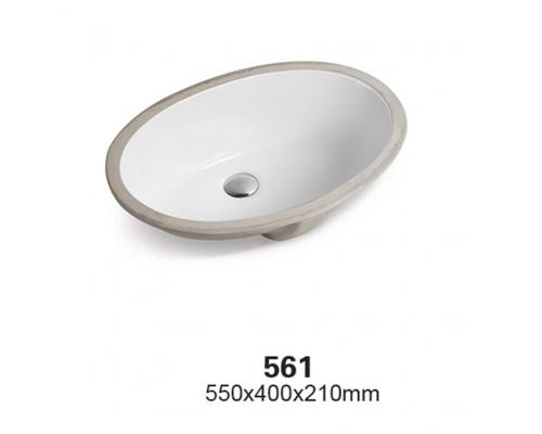 Раковина CeramaLux Серия 561, белый