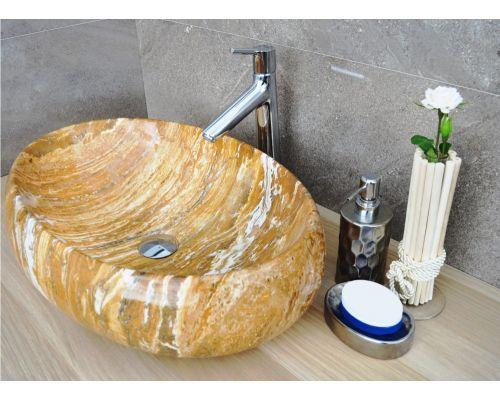 Раковина CeramaLux Серия 164 накладная, под камень