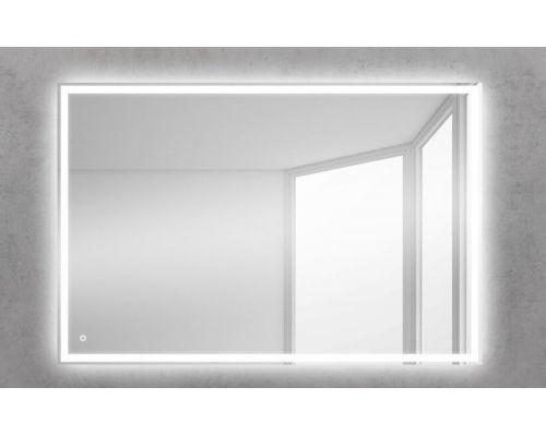 Зеркало BelBagno SPC-GRT-1000-800-LED-TCH 100 x 80 см со встроенным светильником и сенсорным выключателем