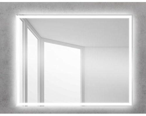 Зеркало BelBagno SPC-GRT-1000-800-LED-BTN 100 x 80 см со встроенным светильником и кнопочным выключателем