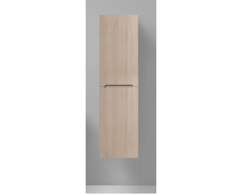 Пенал Belbagno Etna-1500-2A-SC-RG-P-L 40 см подвесной, петли слева, цвет серый дуб (rovere grigio)