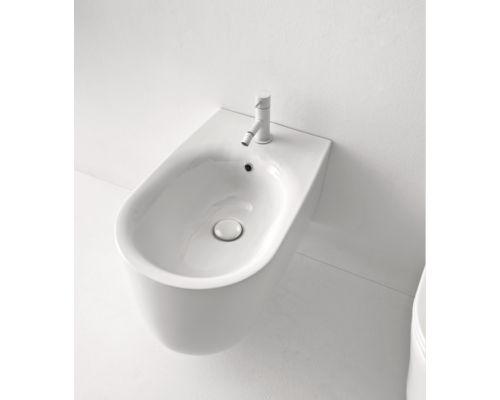 Биде Kerasan Nolita подвесное 55 х 35 см, 532501*1, c креплением WB9N, цвет белый глянцевый