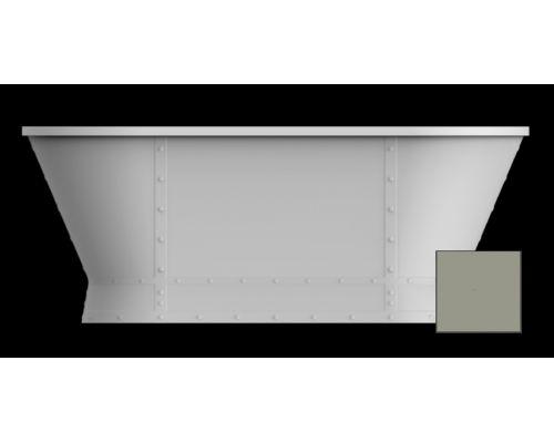 Ванна акриловая BelBagno BB35-CF36 168 x 78 x 65 см, цвет серый матовый