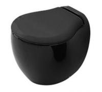 Подвесной унитаз ArtCeram Blend BLV001 03;00/L3110 nero, цвет черный