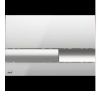 Кнопка управления AlcaPlast M1743 хром-глянцевая/матовая