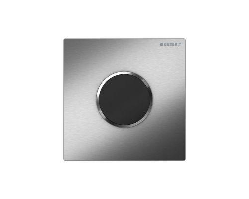 ИК-привод для писсуара Geberit HyTronic Sigma Type 10 116.035.SN.1, черный/нержавеющая сталь