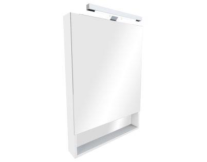 Зеркальный шкаф Roca The Gap 60 ZRU9302748, цвет белый матовый