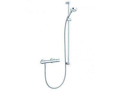 Душевая система Kludi Logo Duo Shower 6857705-00 с термостатом, штанга 90 см
