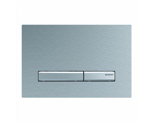 Клавиша Geberit Sigma Type 50 115.788.GH.2, двойной смыв, цинковое литье, полированный хром
