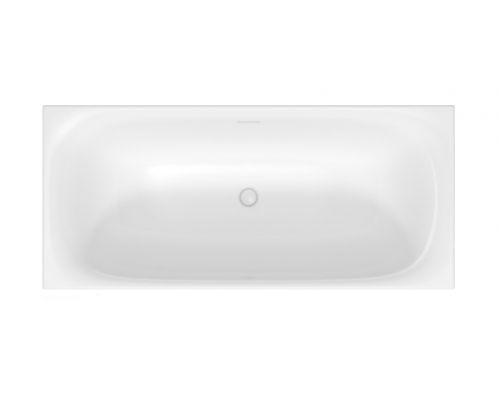 Ванна акриловая Duravit XVui 700443000B10000 180 x 80 см отдельностоящая, шампань матовый