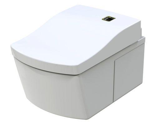 Унитаз подвесной Toto Neorest AC Actilight CW996P, крышка-сиденье Toto Neorest TCF996WG с микролифтом, с функцией биде, с системой удаления запахов