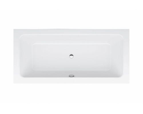Ванна стальная Bette One 3314-000 190 х 90 х 42 см с шумоизоляцией, белая (для удлиненного слива-перелива)