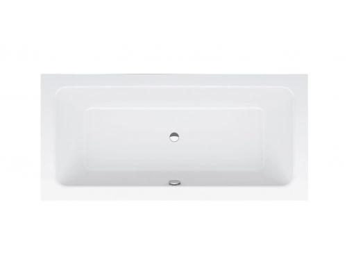 Ванна стальная Bette One 3314-000 PLUS AR 190 х 90 х 42 см с шумоизоляцией, с BetteGlasur ® Plus, антислип, белая (для удлиненного слива-перелива)