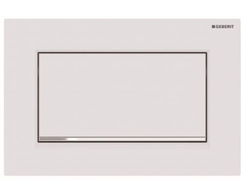 Клавиша Geberit Sigma Type 30 115.893.JT.1, белый, смыв/стоп (не оставляет отпечатки пальцев)