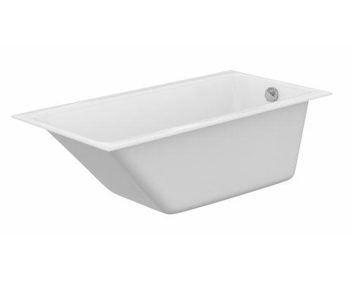 Ванна акриловая Cersanit Crea 150 x 75 см P-WP-CREA*150NL, без гидромассажа, белая