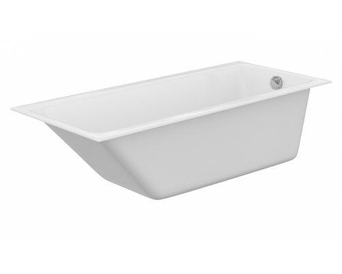 Ванна акриловая Cersanit Crea 170 x 75 см P-WP-CREA*170NL, без гидромассажа, белая