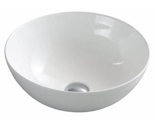 Раковина CeramaLux Серия 104 накладная, белый