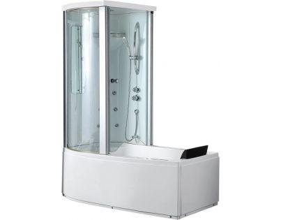 Ванна акриловая Gemy G8040 C L/R, 170 х 85 х 220 см