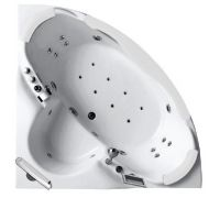 Гидромассажная акриловая ванна Gemy G9025 II O, 155 х 155 x 70 см