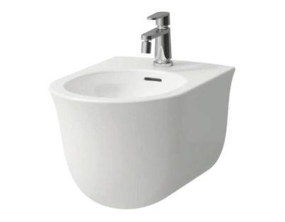 Биде Laufen The New Classic 8.3085.1.000.302.1, подвесное, цвет - белый, 53 х 37 х 34 см