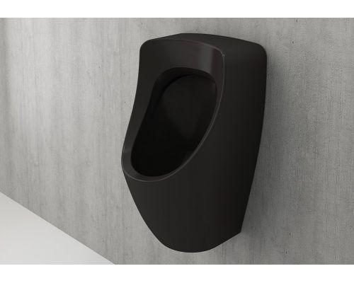 Писсуар Bocchi Taormina Arch 1383-004-0131, скрытый подвод воды, матовый черный