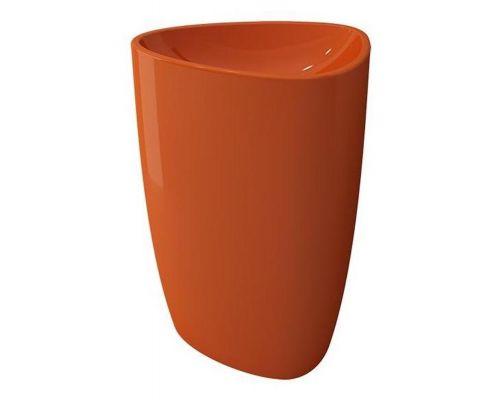 Раковина Bocchi Etna моноблок 1075-012-0125, оранжевая
