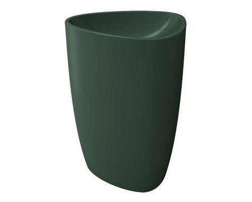 Раковина Bocchi Etna моноблок 1075-027-0125, зеленая