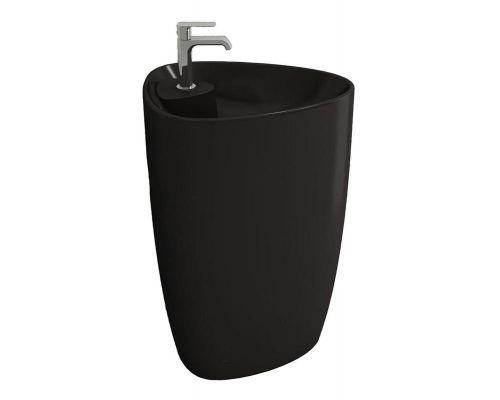 Раковина Bocchi Etna моноблок 1337-004-0126, черная матовая