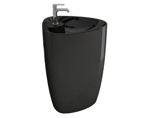 Раковина Bocchi Etna моноблок 1337-005-0126, черная
