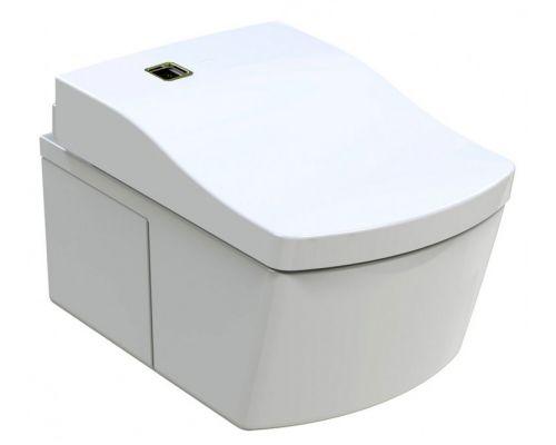 Унитаз подвесной Toto Neorest EW CW994P NW1, крышка-сиденье Toto Neorest TCF994WG-NW1 с микролифтом, с функцией биде, с системой удаления запахов