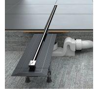 Душевой лоток Viega Advantix 721671 под дизайн-вставку, корпус, подрезной, 70 мм, (плоская модель)