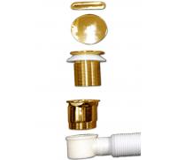 Слив-перелив BelBagno BB39-OVF-ORO, золото
