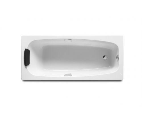 Акриловая ванна Roca Sureste ZRU9302769 170 х 70 см, с каркасом, ручками и переливом в комплекте