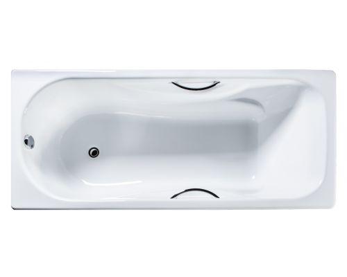 Чугунная ванна Универсал ВЧ-1700 Сибирячка с отверстиями для ручек