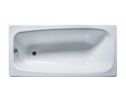 Чугунная ванна Универсал Классик, 150*70 (1 сорт, с ножками)