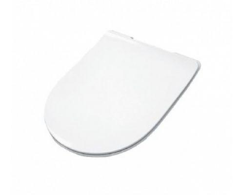 Крышка-сиденье ArtCeram File 2.0 FLA007 01, Soft Close, тонкая, цвет — белый