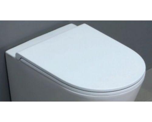 Крышка-сиденье Azzurra Forma FOR1800/F bi/cr быстросъемное, SoftClose, петли хром