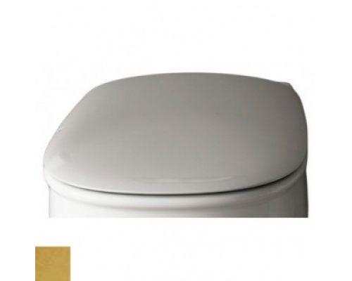 Крышка-сиденье Artceram Azuley AZA001 01; 73, Soft Close, петли - золото