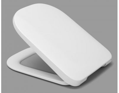 Сиденье с крышкой Roca Gap Slim, 7801472001, метал. петли, Take off, Soft-close